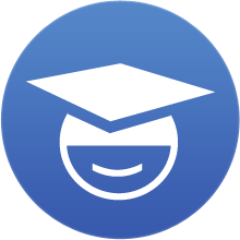 Icon of a graduate in a graduation cap