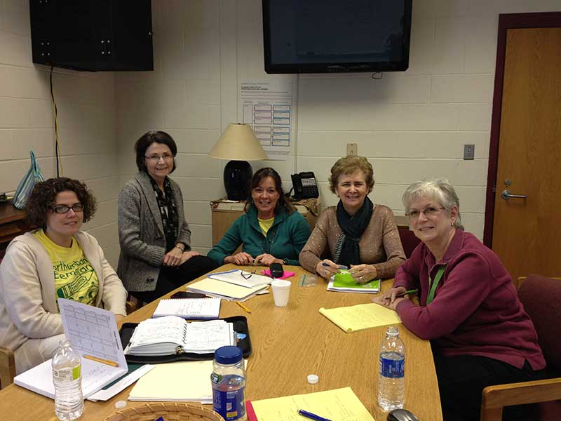 Northumberland Elementary School PLC team leads:  Christine Downey, Jamie Blake, 