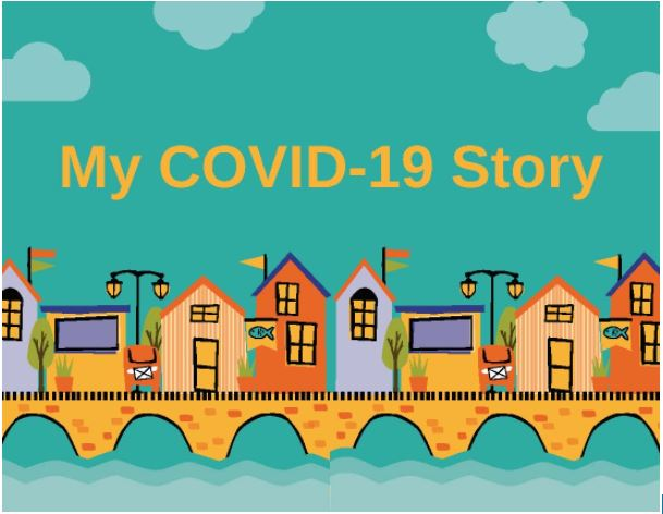 My Covid Story with animated houses